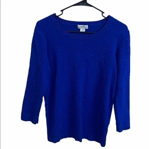 Jacklyn Smith Collection Knit Sweater Medium